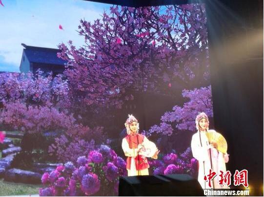 """经典歌剧与古老昆曲上海交融 演绎""""在意大利遇到杜丽娘"""""""